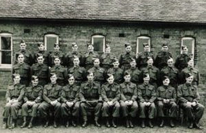 Fradley home guard c1940